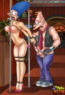 #pic1261855: Abraham Simpson – Marge Simpson – The Simpsons – Toon BDSM