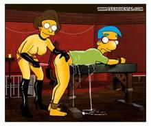 #pic965683: Edna Krabappel – Milhouse Van Houten – The Simpsons