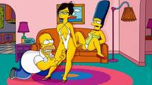 #pic970624: Homer Simpson – Marge Simpson – The Simpsons – animated