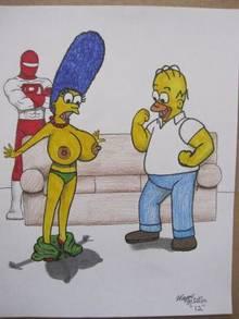 #pic952204: Homer Simpson – Marge Simpson – Moe Szyslak – Mole – The Simpsons
