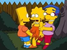 #pic948669: Bart Simpson – Lisa Simpson – Milhouse Van Houten – The Simpsons – comics-toons