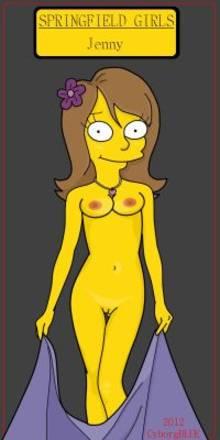 #pic943942: CyborgBLUE – Jenny – The Simpsons