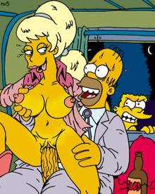 #pic934396: Homer Simpson – Lurleen Lumpkin – Marge Simpson – The Simpsons – nev
