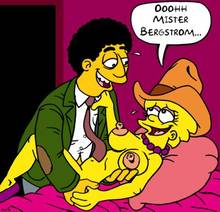 #pic933978: Lisa Simpson – Mr. Bergstrom – The Simpsons – nev