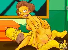 #pic933583: Edna Krabappel – Homer Simpson – The Simpsons – xl-toons