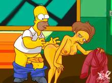 #pic933581: Edna Krabappel – Homer Simpson – The Simpsons – xl-toons