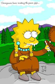 #pic466180: Lisa Simpson – Sacagawea – The Simpsons – Tommy Simms – cosplay