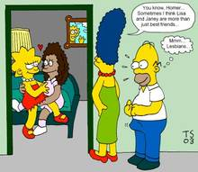 #pic466166: Homer Simpson – Janey Powell – Lisa Simpson – Marge Simpson – The Simpsons – Tommy Simms