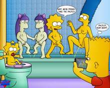 #pic461573: Bart Simpson – Lisa Simpson – Maggie Simpson – Marge Simpson – Sherri – Terri – The Simpsons – WDJ