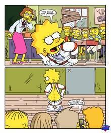#pic459018: Elizabeth Hoover – Lisa Simpson – Ralph Wiggum – The Simpsons – WDJ