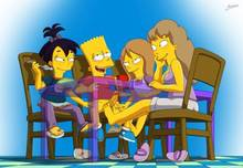 #pic1227813: Bart Simpson – Darcy – Jenny – Nikki McKenna – The Simpsons – arabatos
