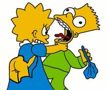 #pic453603: Bart Simpson – Lisa Simpson – The Simpsons – animated – helix