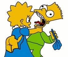#pic453603: Bart Simpson – Lisa Simpson – The Simpsons – animated – helix
