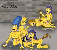 #pic1227708: Elizabeth Hoover – Lisa Simpson – Marge Simpson – Sherri – Terri – The Simpsons