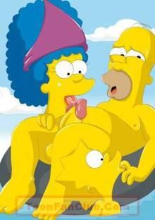 #pic588505: Homer Simpson – Lisa Simpson – Marge Simpson – The Simpsons – ToonFanClub