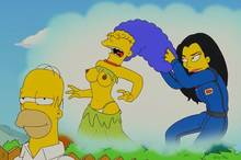 #pic584583: Homer Simpson – Marge Simpson – Mole – The Simpsons – julia