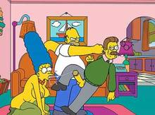 #pic572176: Homer Simpson – Marge Simpson – Ned Flanders – The Simpsons