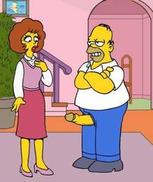 #pic572177: Homer Simpson – Maude Flanders – The Simpsons