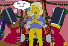 #pic571183: Bart Simpson – ChainMale – Martha Stewart – Milhouse Van Houten – Outhouse – The Simpsons
