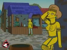 #pic570653: Apu Nahasapeemapetilon – Edna Krabappel – Marge Simpson – Pig Tsar – The Simpsons