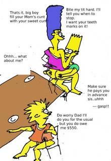 #pic613595: Bart Simpson – Lisa Simpson – Marge Simpson – The Simpsons