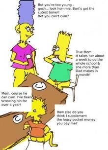 #pic613594: Bart Simpson – Lisa Simpson – Marge Simpson – The Simpsons