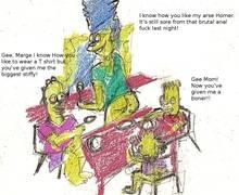 #pic613593: Bart Simpson – Homer Simpson – Lisa Simpson – Marge Simpson – The Simpsons