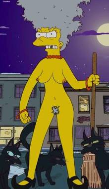 #pic612545: ChainMale – Marge Simpson – The Simpsons