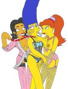 #pic611339: Francesca Terwilliger – Marge Simpson – Princess Kashmir – Shauna Tifton – The Simpsons