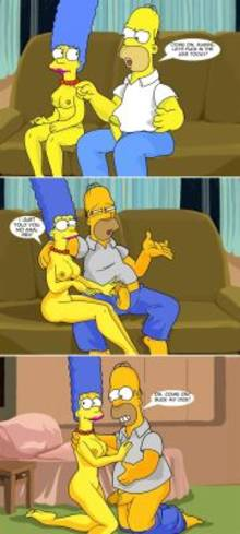 #pic610880: Homer Simpson – Marge Simpson – The Simpsons – comic