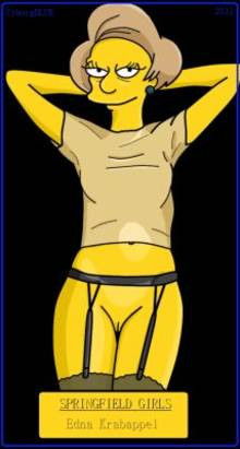 #pic609119: CyborgBLUE – Edna Krabappel – The Simpsons