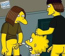 #pic608153: Doplh Starbeam – Jimbo Jones – Lisa Simpson – The Simpsons – famous-toons-facial