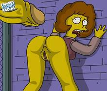 #pic602183: Maude Flanders – Snake Jailbird – The Simpsons – famous-toons-facial