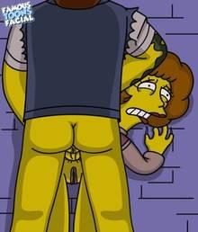#pic602184: Maude Flanders – Snake Jailbird – The Simpsons – famous-toons-facial