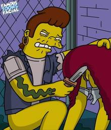 #pic602182: Maude Flanders – Snake Jailbird – The Simpsons – famous-toons-facial