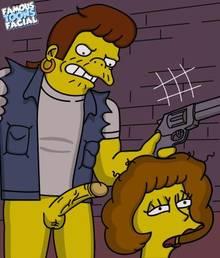 #pic602181: Maude Flanders – Snake Jailbird – The Simpsons – famous-toons-facial