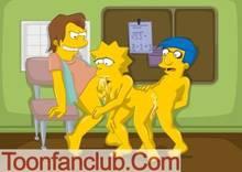 #pic568768: Lisa Simpson – Milhouse Van Houten – Nelson Muntz – The Simpsons – ToonFanClub