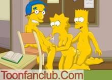 #pic568766: Bart Simpson – Lisa Simpson – Milhouse Van Houten – The Simpsons – ToonFanClub