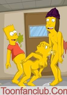 #pic568769: Bart Simpson – Jimbo Jones – Lisa Simpson – The Simpsons – ToonFanClub