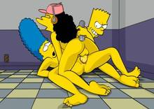 #pic568763: Bart Simpson – Marge Simpson – Otto mann – The Simpsons – ToonFanClub
