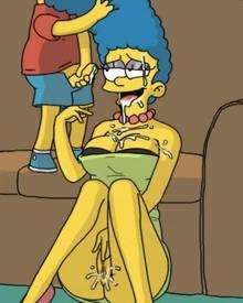 #pic566021: Bart Simpson – Marge Simpson – The Simpsons – funsish