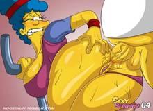 #pic1220787: Homer Simpson – Marge Simpson – The Simpsons – kogeikun