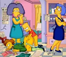 #pic1223104: Bart Simpson – Edna Krabappel – Luann Van Houten – Selma Bouvier – The Simpsons