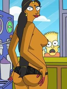 #pic553922: Bart Simpson – Manjula Nahasapeemapetilon – The Simpsons