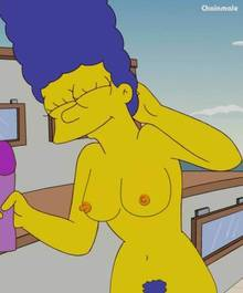 #pic552041: ChainMale – Marge Simpson – The Simpsons