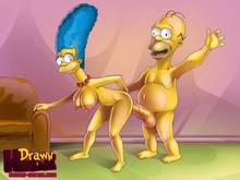 #pic549649: Drawn-Hentai – Homer Simpson – Marge Simpson – The Simpsons