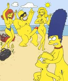 #pic546386: Bart Simpson – Homer Simpson – Marge Simpson – The Simpsons