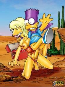 #pic544399: Bart Simpson – Bartman – The Simpsons – futa-toon – sara sloane