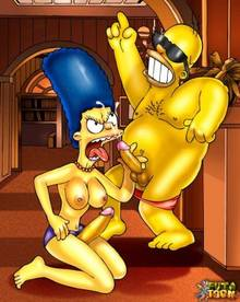 #pic543921: Homer Simpson – Marge Simpson – The Simpsons – futa-toon