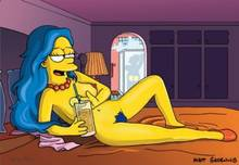 #pic535330: Homer Simpson – Marge Simpson – Mole – The Simpsons